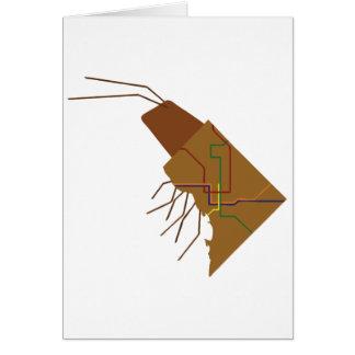 Insecto de DC Tarjeta De Felicitación