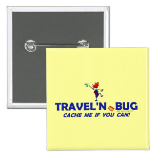 Insecto de Geocache Travel n Pin