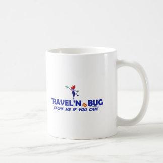 Insecto de Geocache Travel'n Taza Básica Blanca