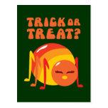 Insecto de Halloween Postales