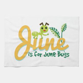 Insecto de junio toallas de cocina