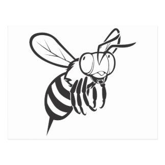 Insecto de la abeja del vuelo postal