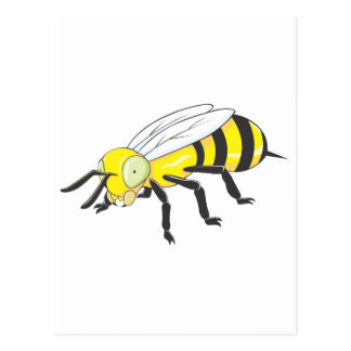 Insecto de la abeja tarjeta postal