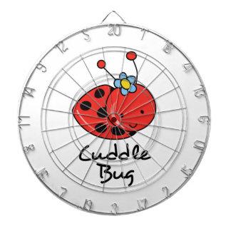 Insecto de la abrazo tabla dardos
