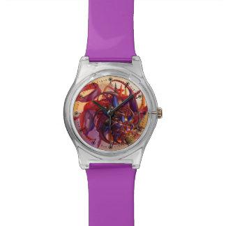 Insecto de la ciencia ficción relojes de pulsera