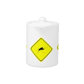 Insecto de la molestia de la señal de peligro del
