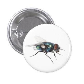 Insecto de la mosca pin redondo 2,5 cm