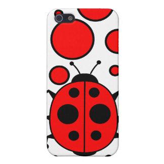 Insecto de la señora iPhone 5 carcasas