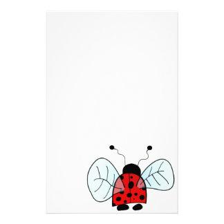Insecto de la señora papelería personalizada