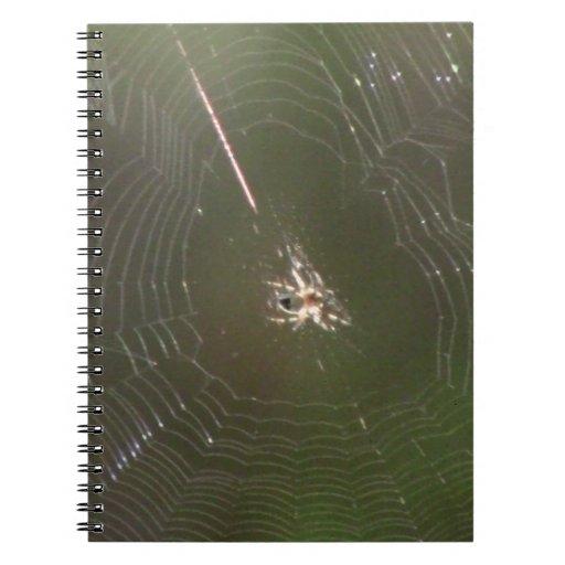 Insecto de las arañas de los arácnidos de los inse libro de apuntes con espiral