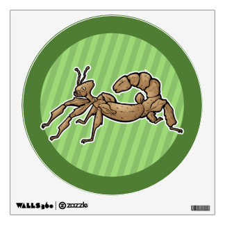 Insecto de palillo espinoso gigante vinilo decorativo