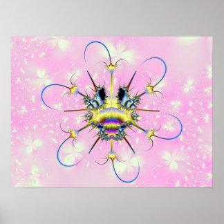 Insecto de Tecti y poster del antivirus