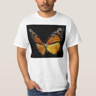 Insecto de vuelo anaranjado de la mariposa del playera