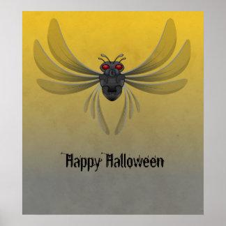 Insecto de vuelo póster
