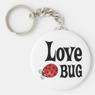 Insecto del amor - mariquita llavero redondo tipo pin
