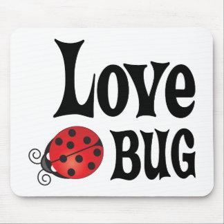 Insecto del amor - mariquita tapete de ratón