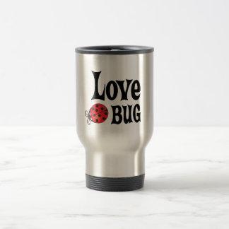 Insecto del amor - mariquita taza