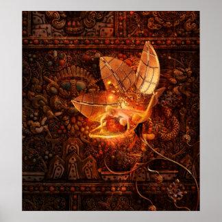 Insecto del artefacto póster