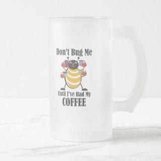 Insecto del café taza de cristal