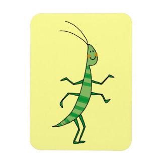 insecto del dibujo animado imán
