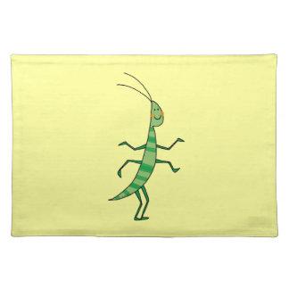 insecto del dibujo animado manteles