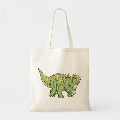 Insecto del dinosaurio del Triceratops Bolsas