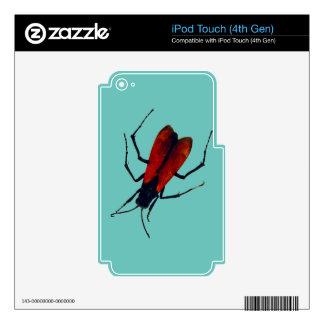INSECTO DEL ESCARABAJO iPod TOUCH 4G SKIN