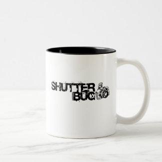 Insecto del obturador tazas de café