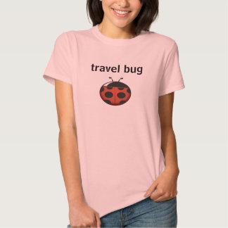 Insecto del viaje playera