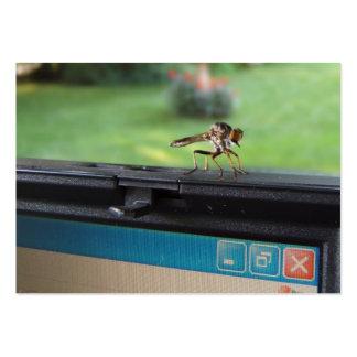 Insecto en el ATC del ~ del sistema Tarjetas De Visita Grandes