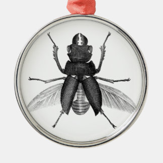 Insecto espeluznante del escarabajo con las ornamento para arbol de navidad