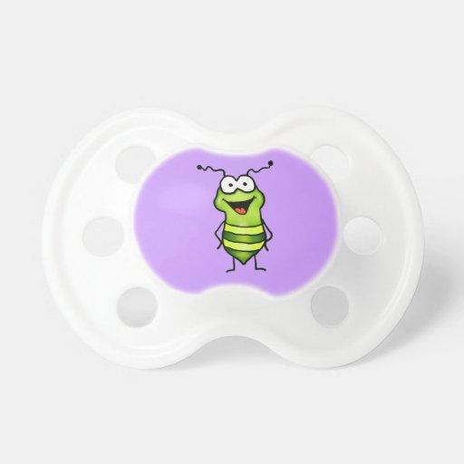 Insecto feliz chupetes para bebes