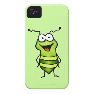 Insecto feliz iPhone 4 Case-Mate carcasas