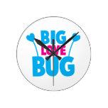 Insecto GRANDE del amor con las antenas del insect Relojes