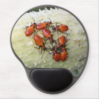 Insecto grande del Milkweed Alfombrillas De Raton Con Gel