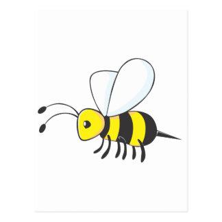 Insecto industrioso de la abeja tarjeta postal