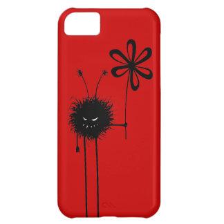 Insecto malvado rojo adaptable de la flor