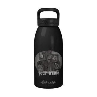 Insecto personalizado del obturador botellas de agua reutilizables