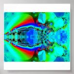 insecto psicodélico impresiones