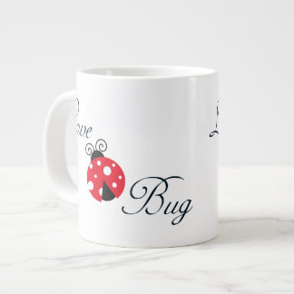 Insecto rojo del amor - mariquita tazas jumbo