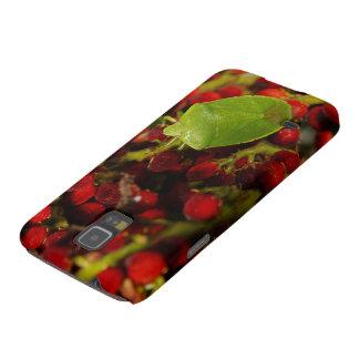 Insecto verde del hedor en Sumac Funda De Galaxy S5