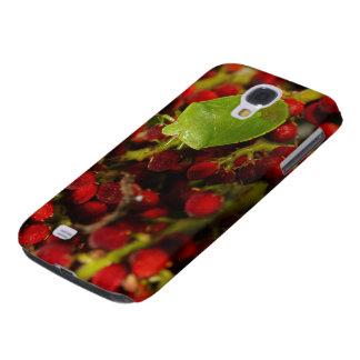 Insecto verde del hedor en Sumac Funda Para Galaxy S4