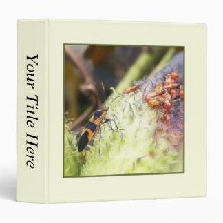 """Insecto y bebés - Oncopeltus Fasciatus del Carpeta 1 1/2"""""""