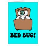 insectos de cama felicitación