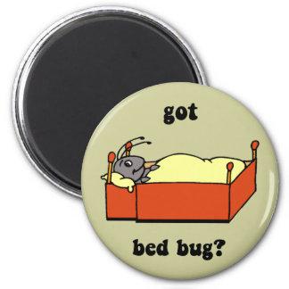 Insectos de cama imán redondo 5 cm