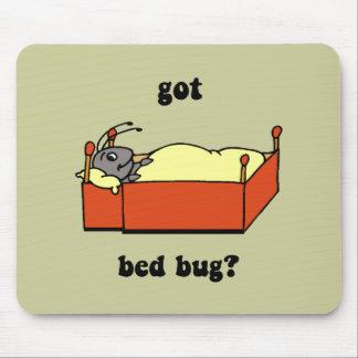 Insectos de cama alfombrilla de raton