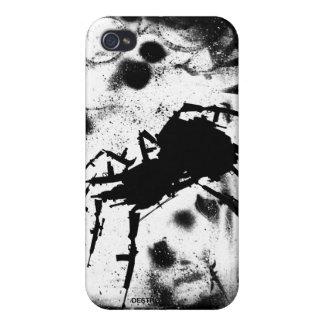 Insectos de Howell del caso del iPhone 4 de la gue iPhone 4 Funda