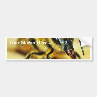 Insectos de las abejas pegatina de parachoque