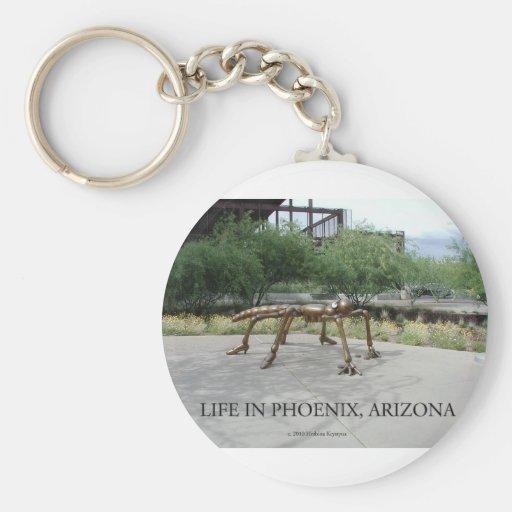 Insectos de Phoenix Arizona Llavero Redondo Tipo Pin