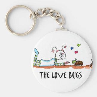 insectos del amor llaveros personalizados